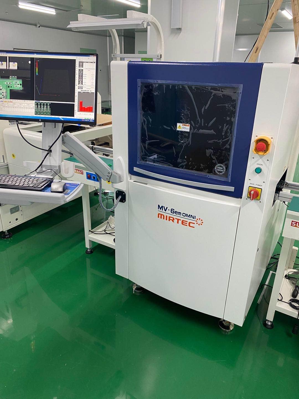 安悦科技的3D AOI.SPI在湖北武汉天运汽车交付使用
